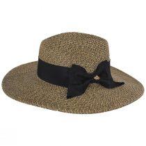 Catalina Toyo Straw Blend Fedora Hat alternate view 3