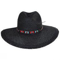 Aylen Braided Toyo Straw Blend Safari Fedora Hat alternate view 2
