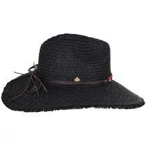 Aylen Braided Toyo Straw Blend Safari Fedora Hat alternate view 3