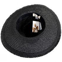 Aylen Braided Toyo Straw Blend Safari Fedora Hat alternate view 4