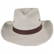 Cotton Twill Outback Fedora Hat alternate view 8