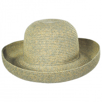 Classic Toyo Straw Roll Up Sun Hat alternate view 4