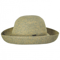 Classic Toyo Straw Roll Up Sun Hat alternate view 5