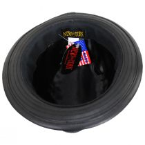 Lambskin Leather Fedora Hat alternate view 4