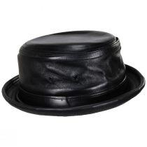 Lambskin Leather Bucket Hat alternate view 3