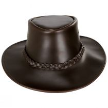 Crusher Leather Outback Hat alternate view 6