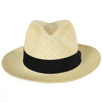 Puerto Lopez Twisted Panama Straw Fedora Hat alternate view 2