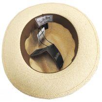 Puerto Lopez Twisted Panama Straw Fedora Hat alternate view 4