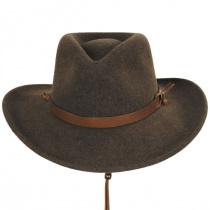 Morgan Crushable Wool LiteFelt Western Hat alternate view 10