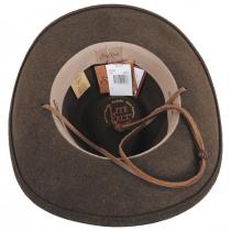 Morgan Crushable Wool LiteFelt Western Hat alternate view 16