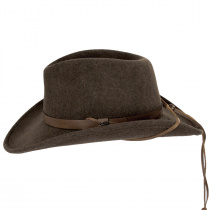 Morgan Crushable Wool LiteFelt Western Hat alternate view 3