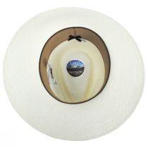 Argonaut Panama Straw Fedora Hat alternate view 4