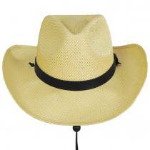 El Cajon Toyo Straw Western Cowboy Hat alternate view 2