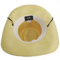 El Cajon Toyo Straw Western Cowboy Hat alternate view 16