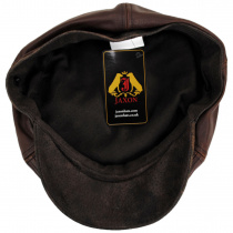 Leather Suede Newsboy Cap alternate view 16