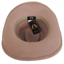 Colorado Ultra Wide Brim Wool Felt Fedora Hat alternate view 29