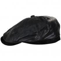 Leather Suede Newsboy Cap alternate view 7