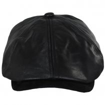 Leather Suede Newsboy Cap alternate view 22