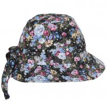 Knotted Cotton Cloche Hat alternate view 7