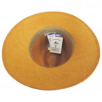 Southwest Panama Straw Wide Brim Fedora Hat alternate view 16