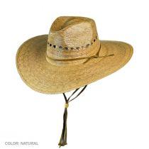 Gardener Lattice Palm Straw Wide Brim Hat alternate view 9