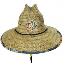 Canopy Straw Lifeguard Hat alternate view 2