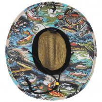 Dry Fly Straw Lifeguard Hat alternate view 4