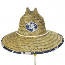 Harvey Straw Lifeguard Hat alternate view 2