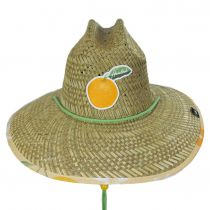 Squeeze Straw Lifeguard Hat alternate view 2