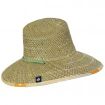 Squeeze Straw Lifeguard Hat alternate view 3