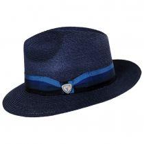 Side Eye Hemp Straw Fedora Hat alternate view 11