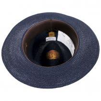Side Eye Hemp Straw Fedora Hat alternate view 12