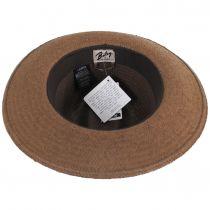 Rothney Raindura Straw Fedora Hat alternate view 4