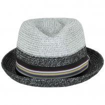 Rokit Toyo Straw Braid Trilby Fedora Hat alternate view 2