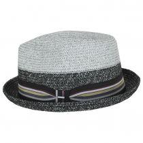 Rokit Toyo Straw Braid Trilby Fedora Hat alternate view 3