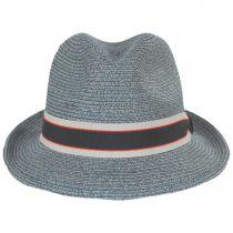 Salem Braided Toyo Straw Fedora Hat alternate view 6