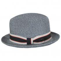 Salem Braided Toyo Straw Fedora Hat alternate view 16