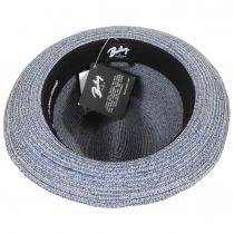 Salem Braided Toyo Straw Fedora Hat alternate view 17