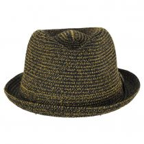 Billy Braided Toyo Straw Fedora Hat alternate view 11
