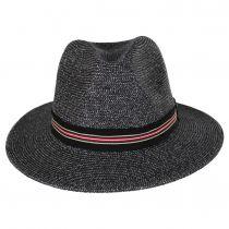 Hester Toyo Straw Blend Fedora Hat alternate view 2