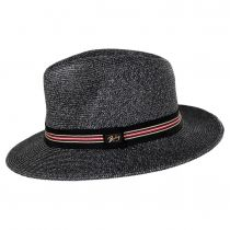 Hester Toyo Straw Blend Fedora Hat alternate view 3