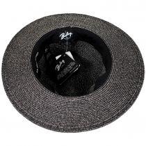 Hester Toyo Straw Blend Fedora Hat alternate view 4