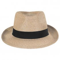 Ronit Toyo Straw Blend Trilby Fedora Hat alternate view 6