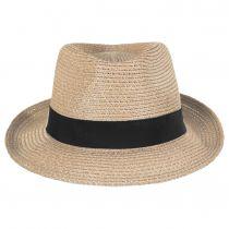 Ronit Toyo Straw Blend Trilby Fedora Hat alternate view 10