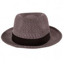 Ronit Toyo Straw Blend Trilby Fedora Hat alternate view 2