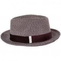 Ronit Toyo Straw Blend Trilby Fedora Hat alternate view 3