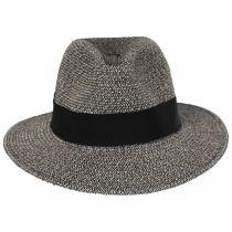 Mullan Toyo Straw Blend Safari Fedora Hat alternate view 2