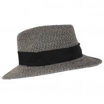 Mullan Toyo Straw Blend Safari Fedora Hat alternate view 3