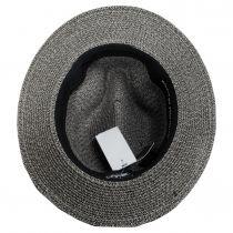 Mullan Toyo Straw Blend Safari Fedora Hat alternate view 12