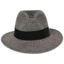 Mullan Toyo Straw Blend Safari Fedora Hat alternate view 18